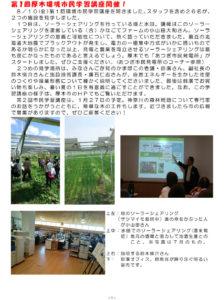 第1回厚木環境市民学習講座開催!